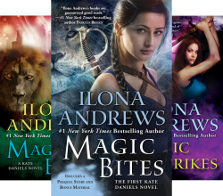 Kate Daniels (10 Book Series) by  Ilona Andrews