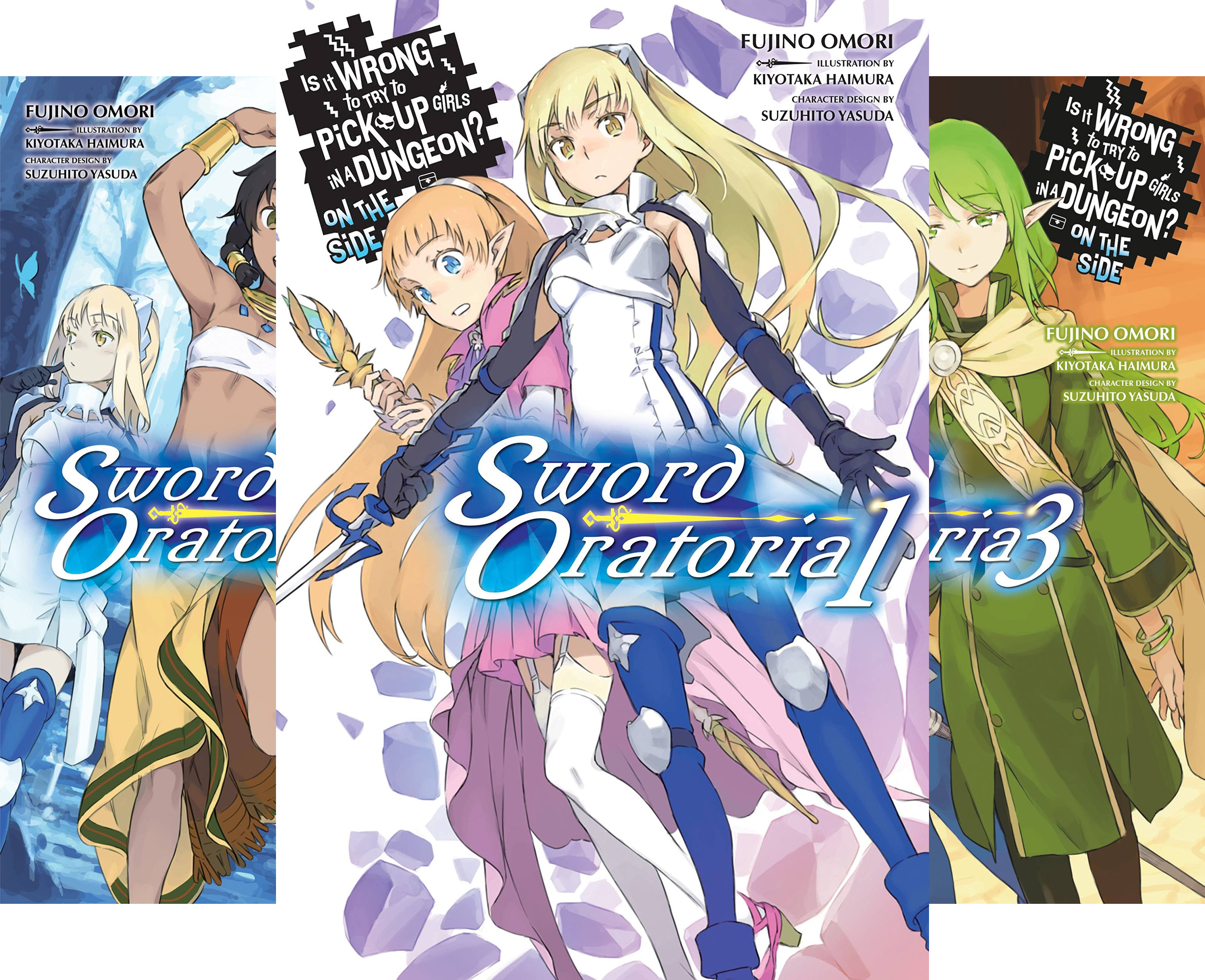 Is It Wrong to Try to Pick Up Girls in a Dungeon? On the Side: Sword Oratoria (4 Book Series)