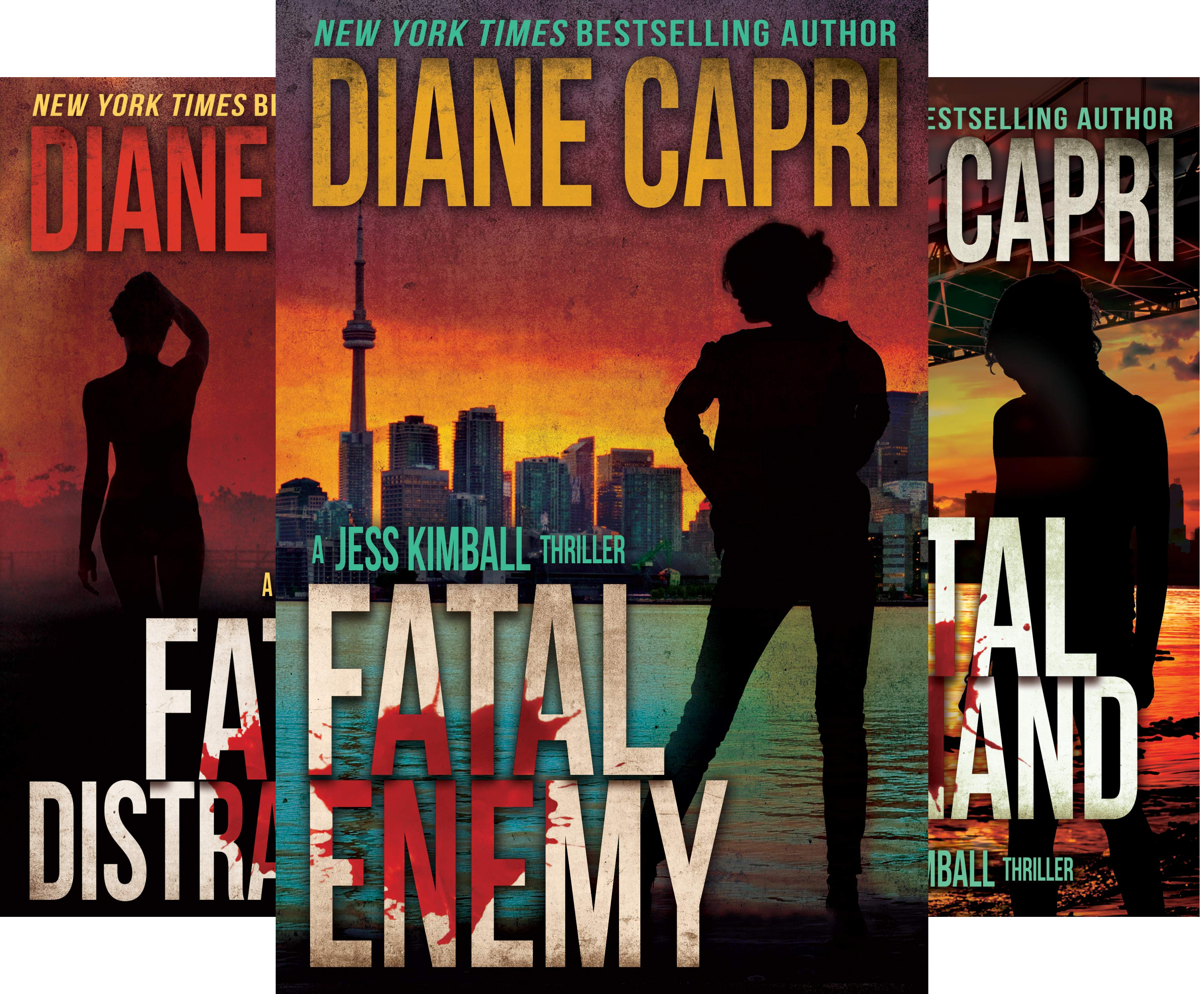 The Jess Kimball Thrillers Series (11 Book Series)