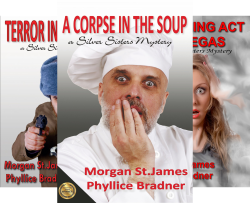 Silver Sisters Mysteries (4 Book Series) by  St. James, Morgan Phyllice Bradner