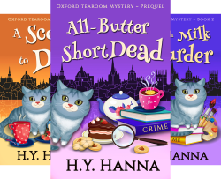 Oxford Tearoom Mysteries (5 Book Series) by  H.Y. Hanna