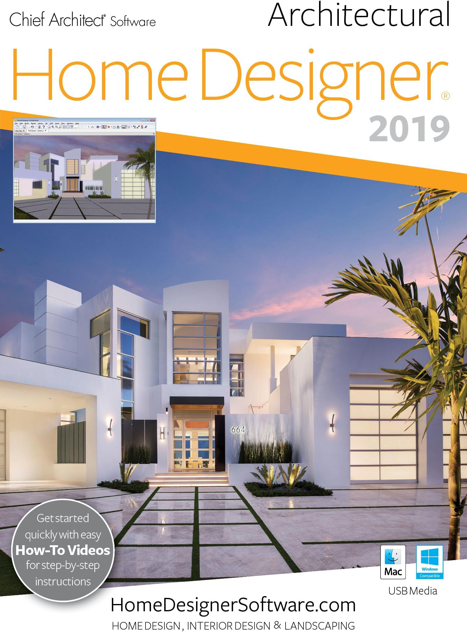 Amazon Com Home Designer Architectural 2019 Pc Download Download Software