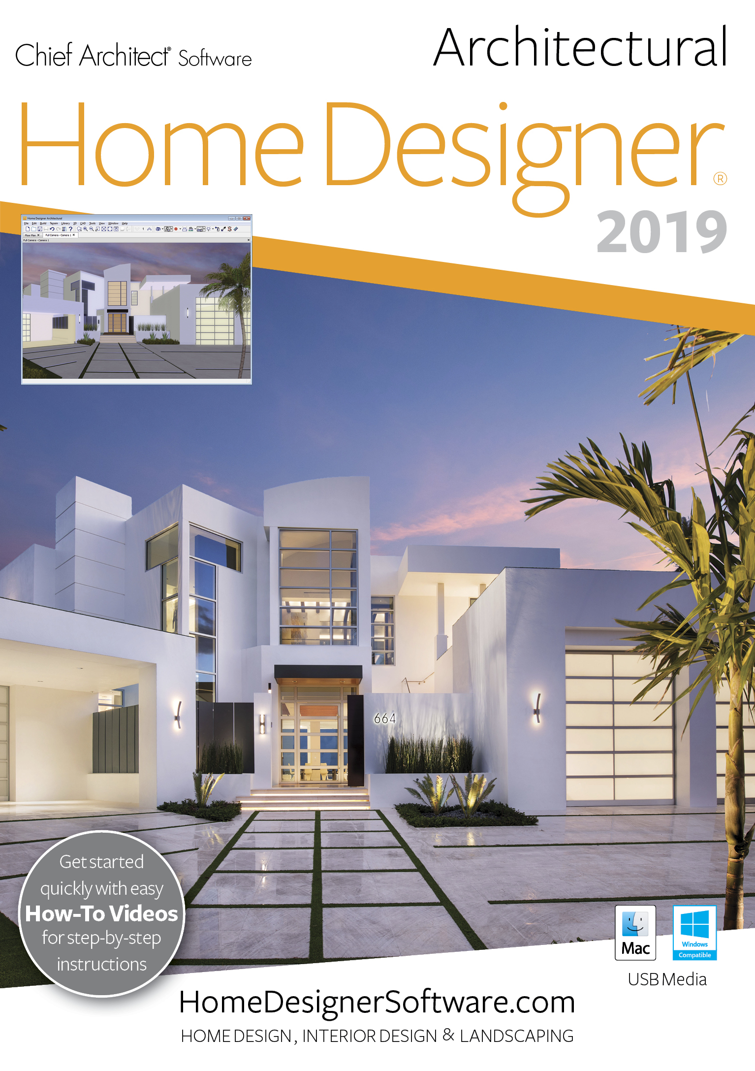 Software : Home Designer Architectural 2019 - PC Download [Download]