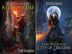The Iron Teeth (2 Book Series) by  Scott Straughan