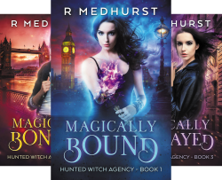 Hunted Witch Agency (5 Book Series) by  Rachel Medhurst