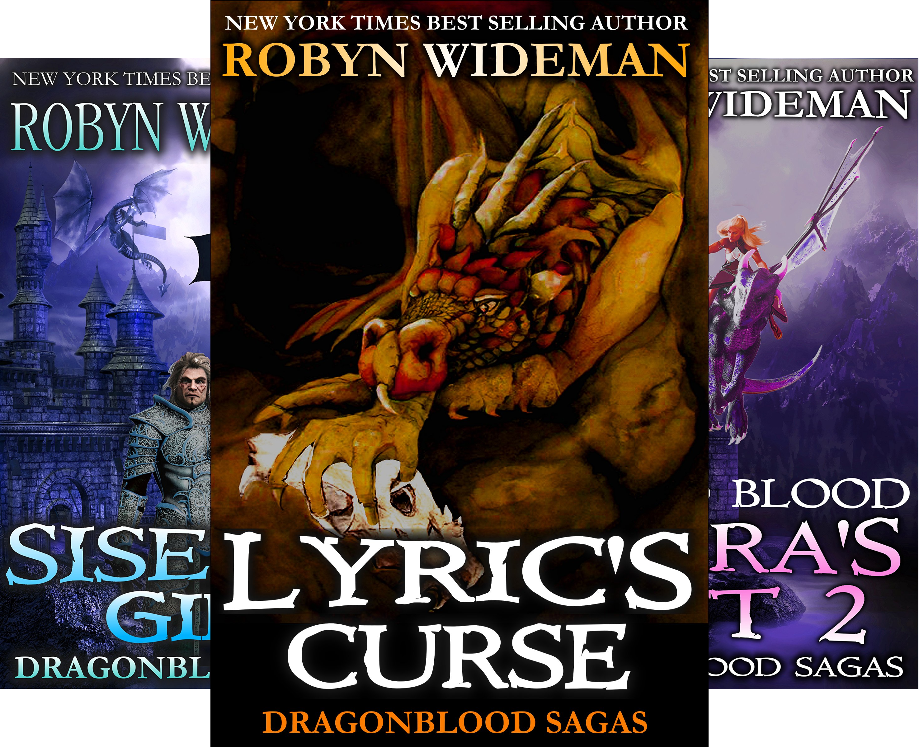 Dragonblood Sagas (4 Book Series)