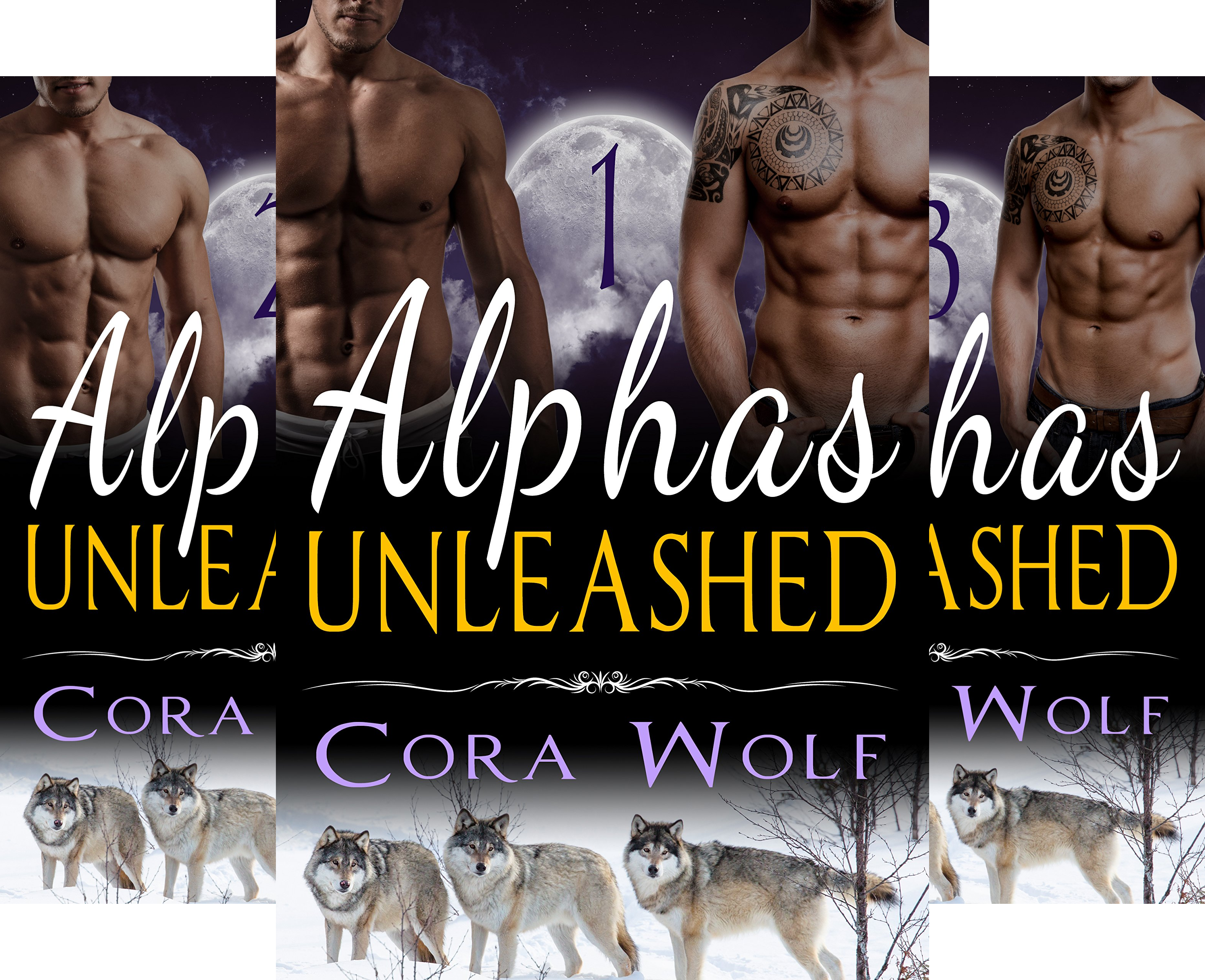 Alphas Unleashed (4 Book Series)