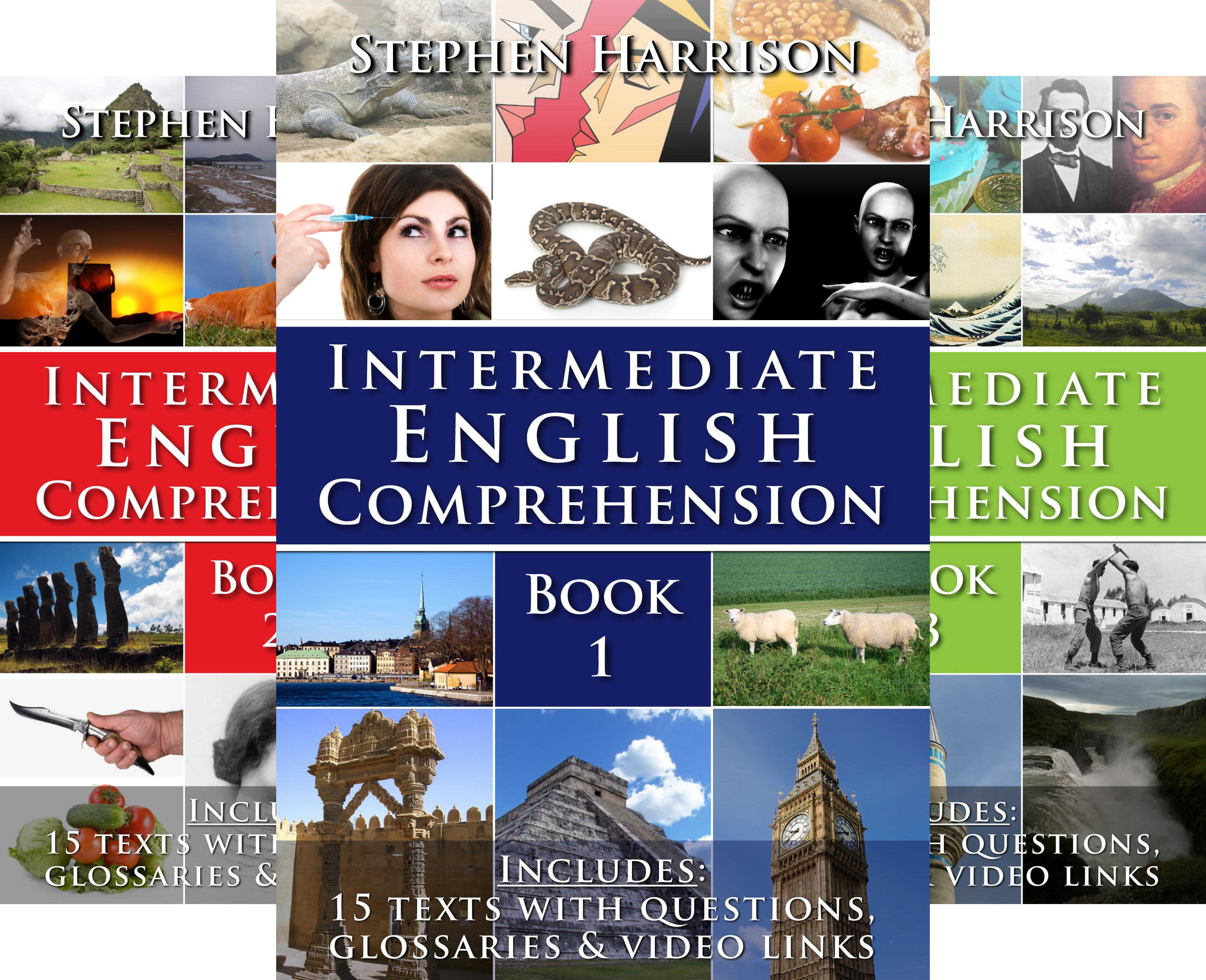Download Intermediate English Comprehension (5 Book Series) Pdf