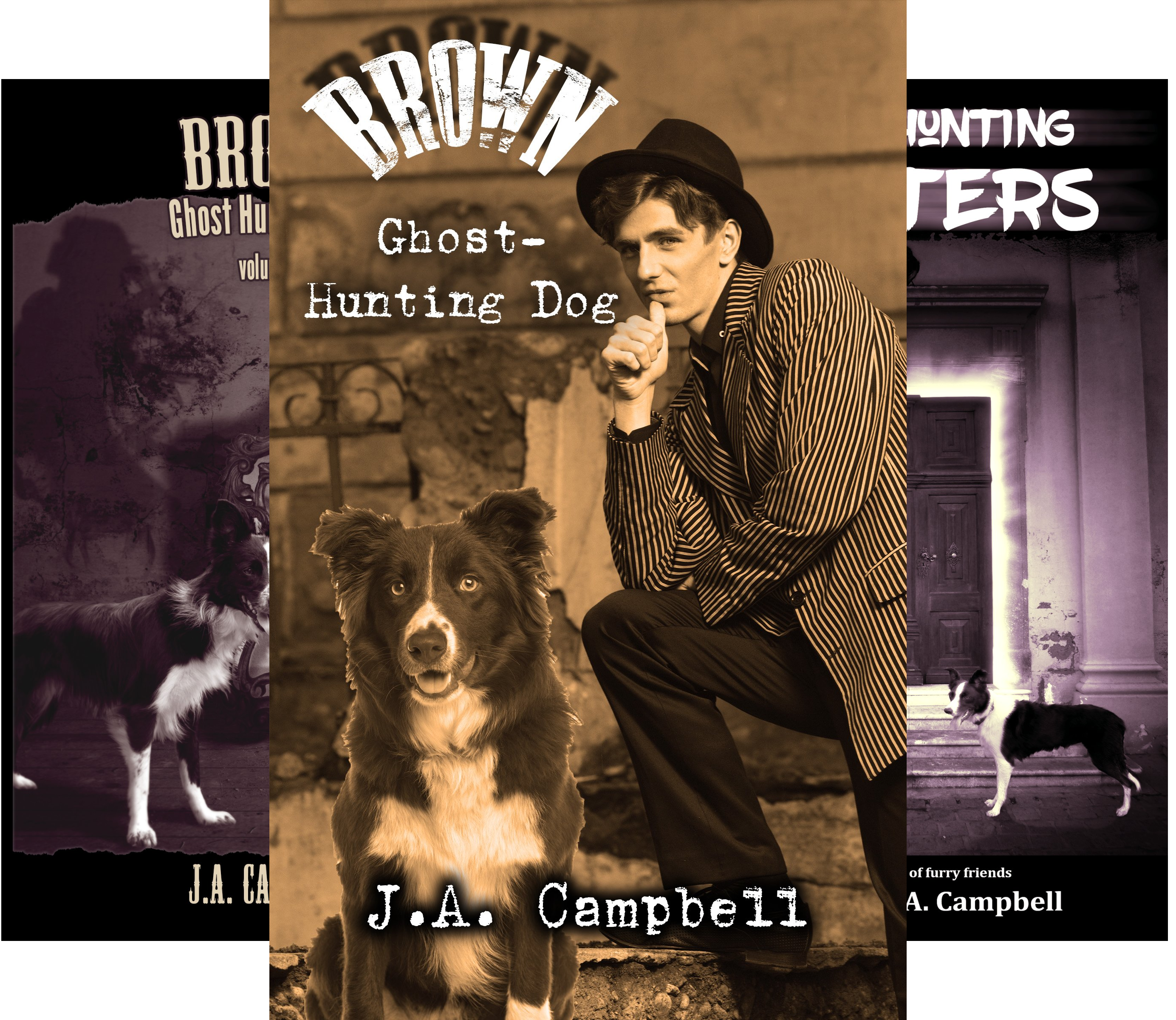 Ghost Hunting Dog (3 Book Series)