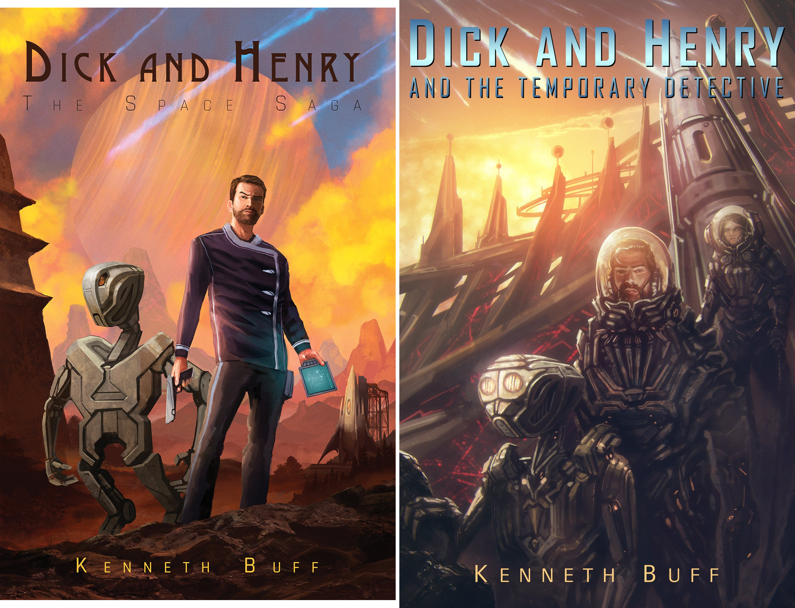 Dick and Henry (2 Book Series)