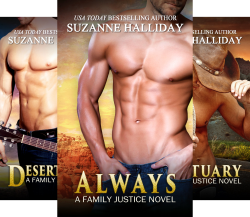 Family Justice (7 Book Series) by  Suzanne Halliday