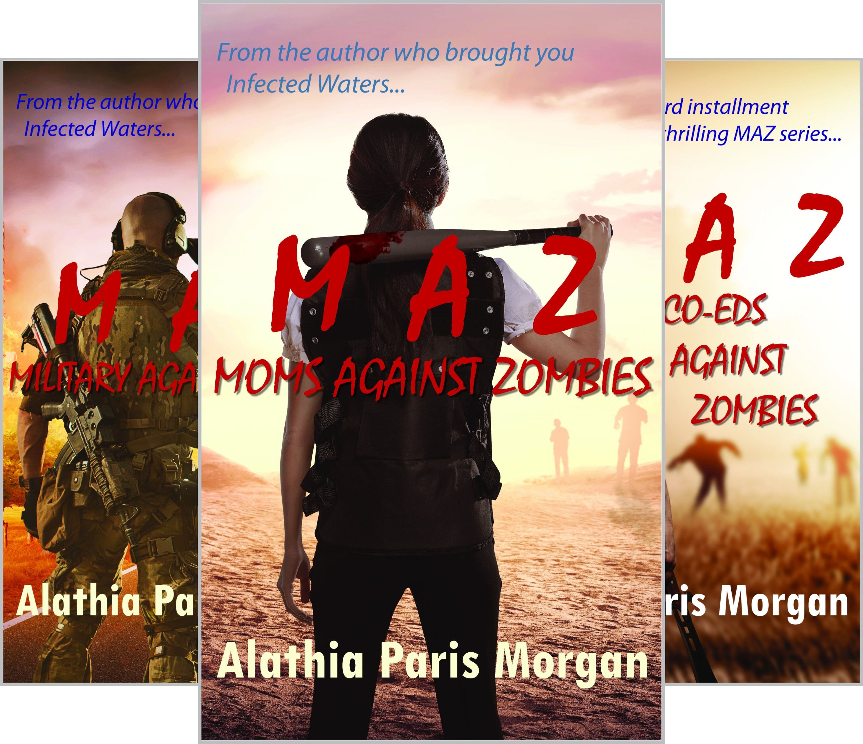 Against Zombies (3 Book Series)