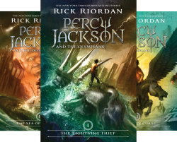 Percy Jackson and the Olympians Series (5 books) Kindle Edition by Rick Riordan