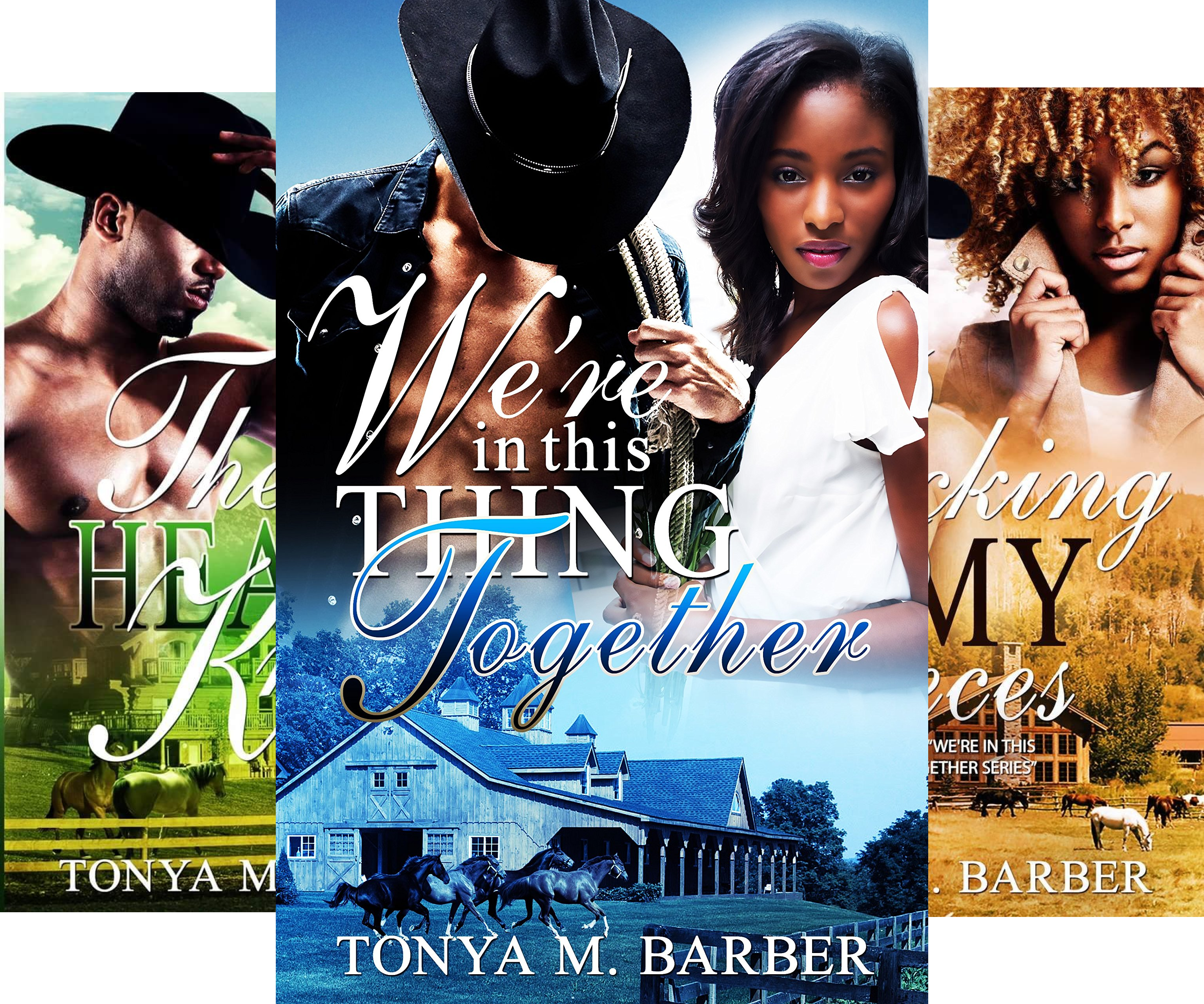 Books : We're In This Thing Together (3 Book Series)