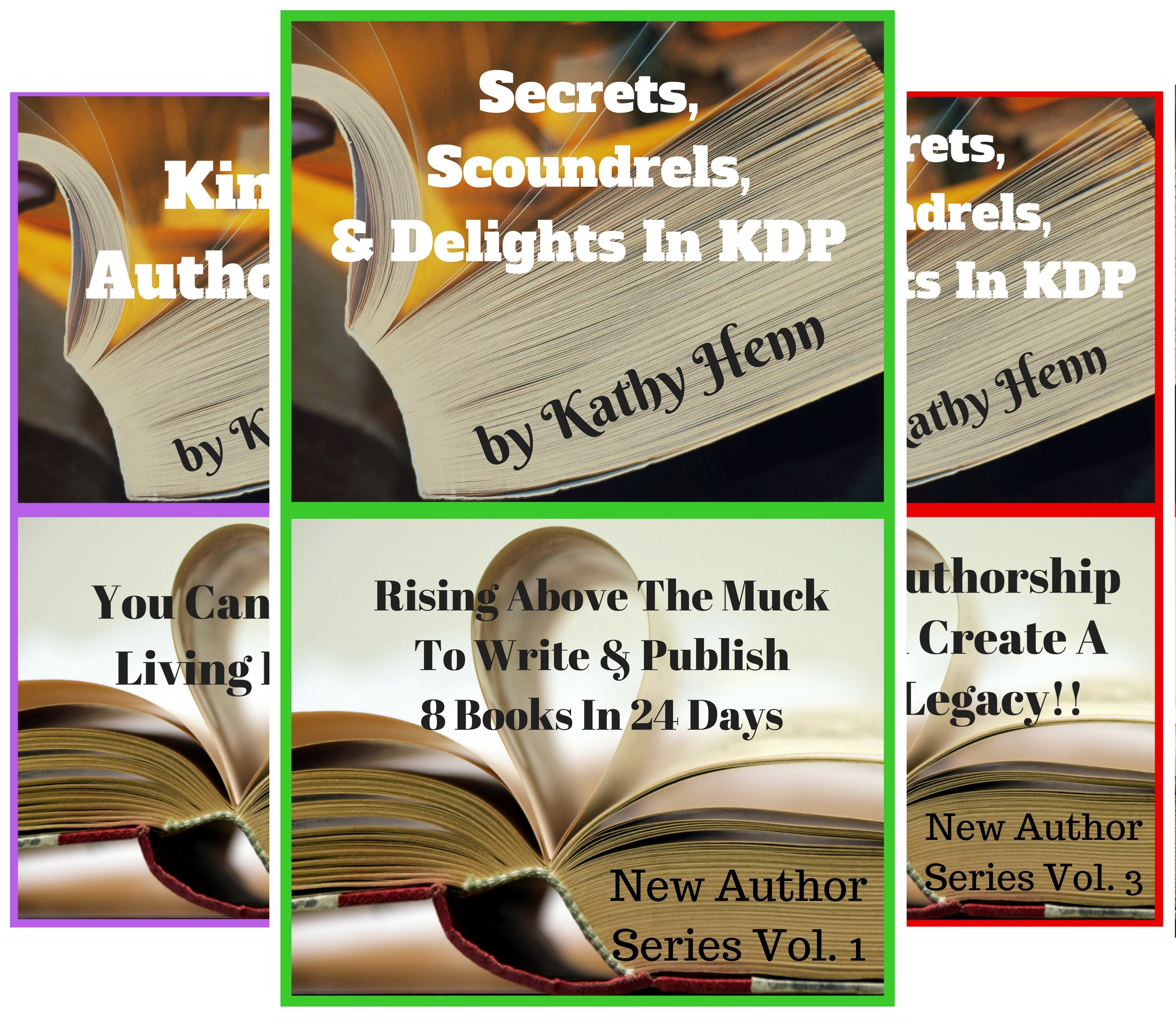 New Author Series (6 Book Series)