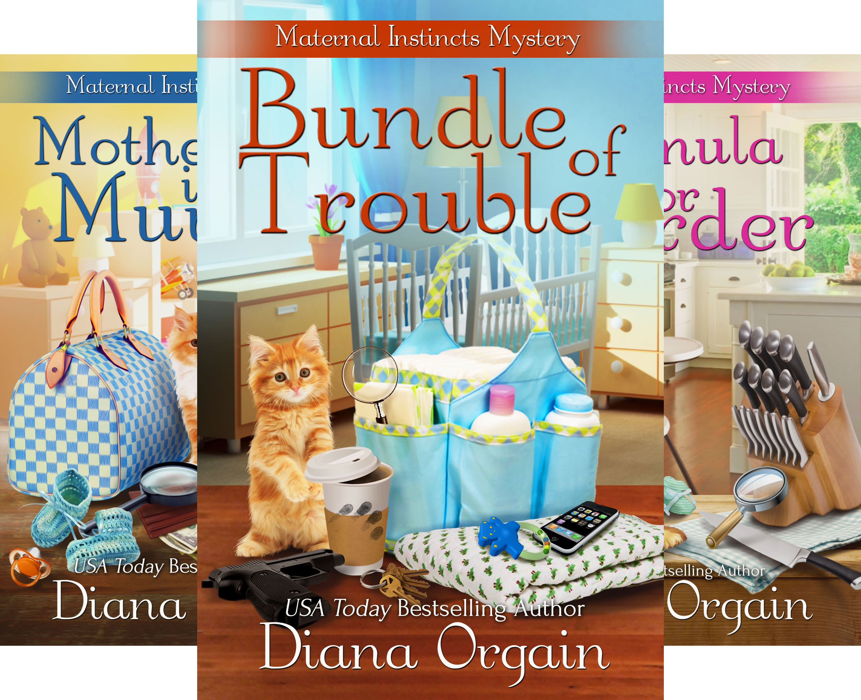 A Maternal Instincts Mystery (5 Book Series)