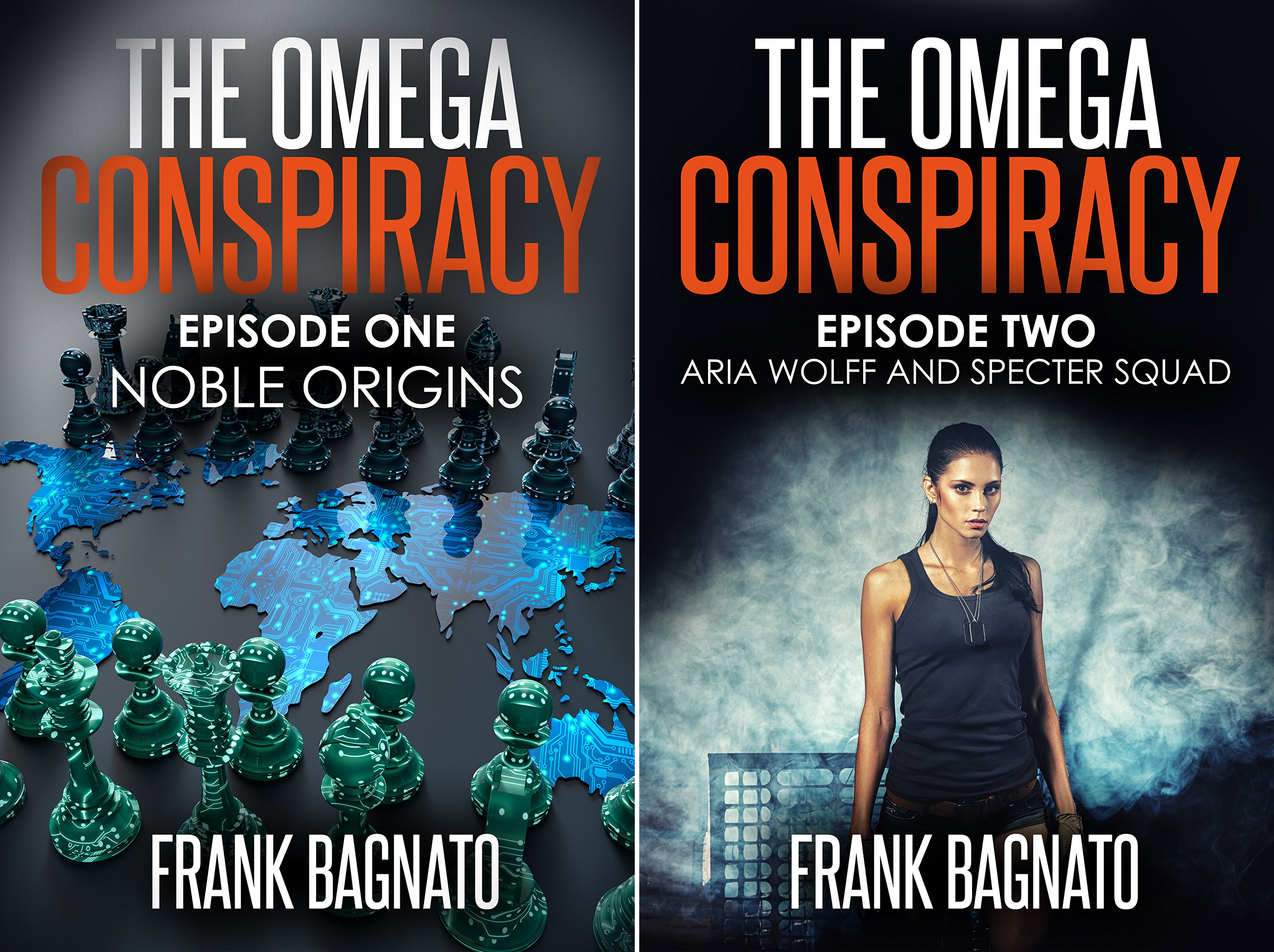 The Omega Conspiracy Series (2 Book Series)