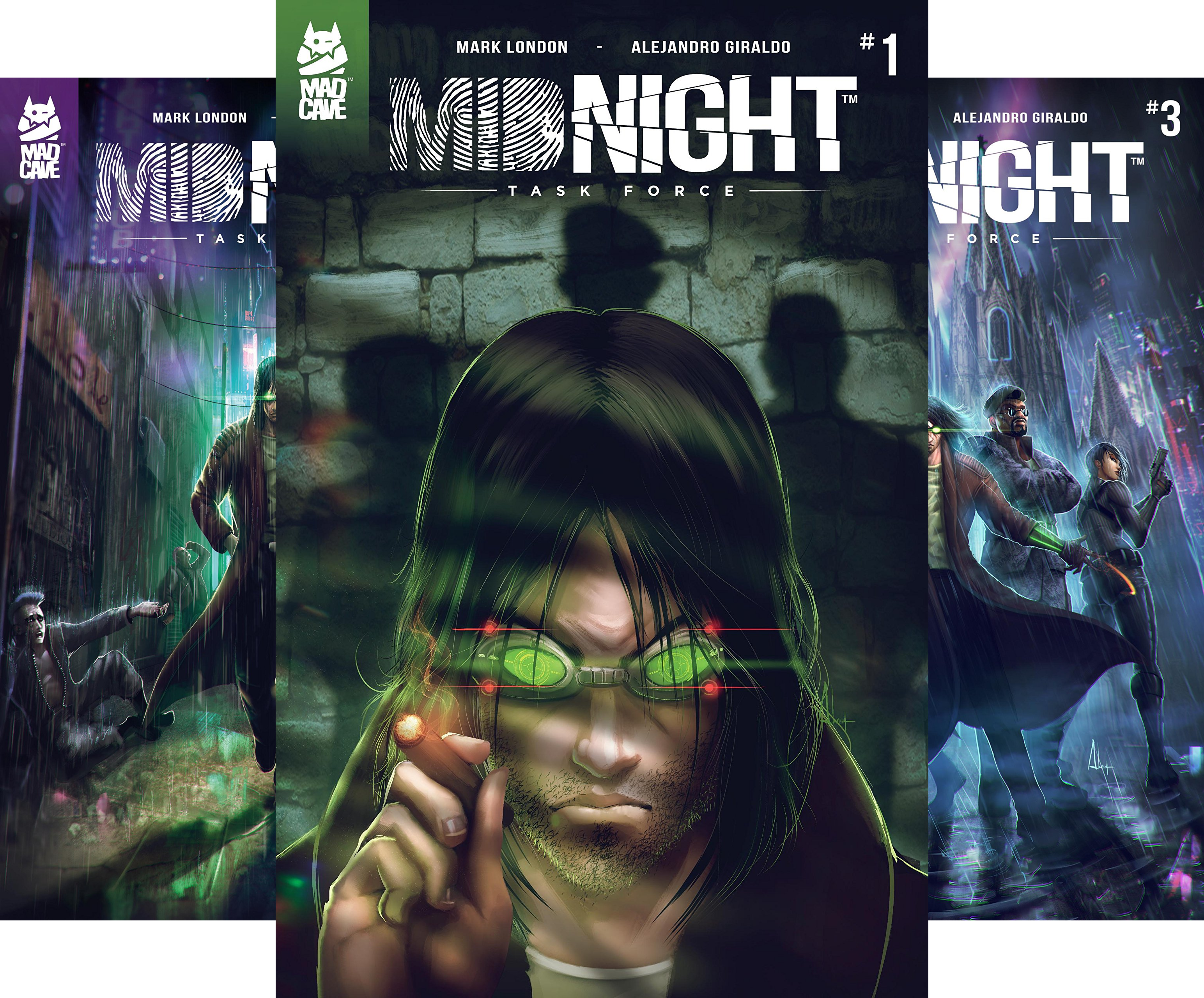Midnight Task Force (4 Book Series)