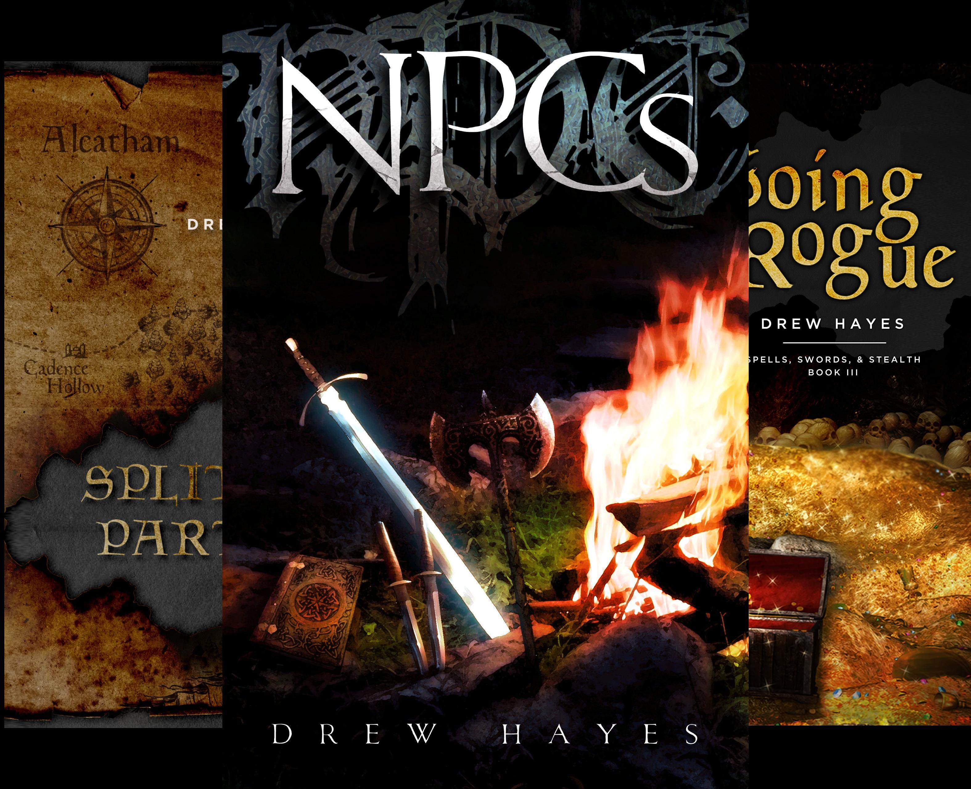 Spells, Swords, & Stealth (3 Book Series)
