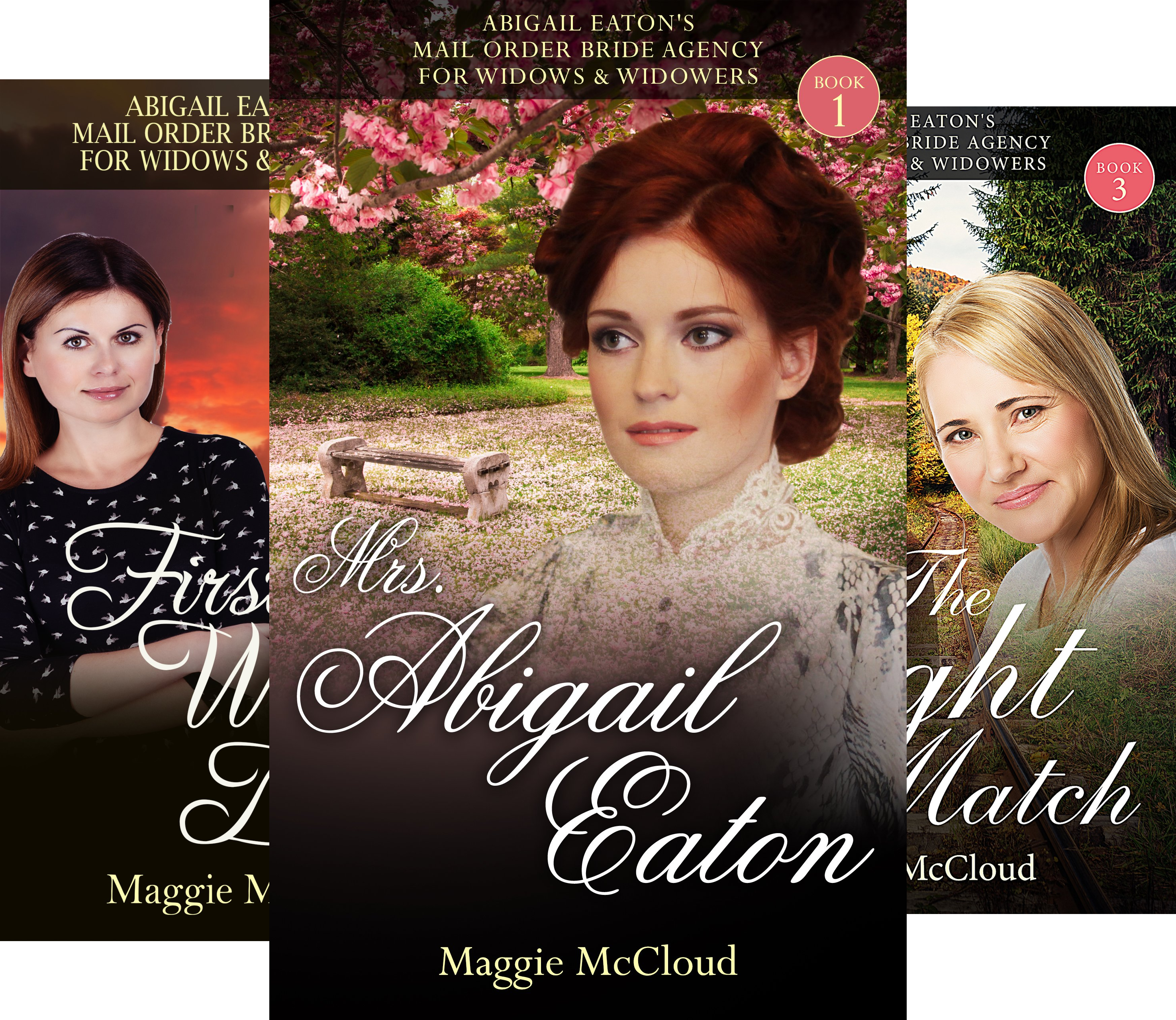 Abigail Eaton's Mail Order Bride Agency For Widows & Widowers (4 Book Series)