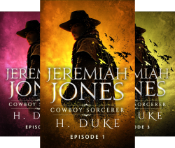 Cowboy Sorcerer (8 Book Series) by  H. Duke