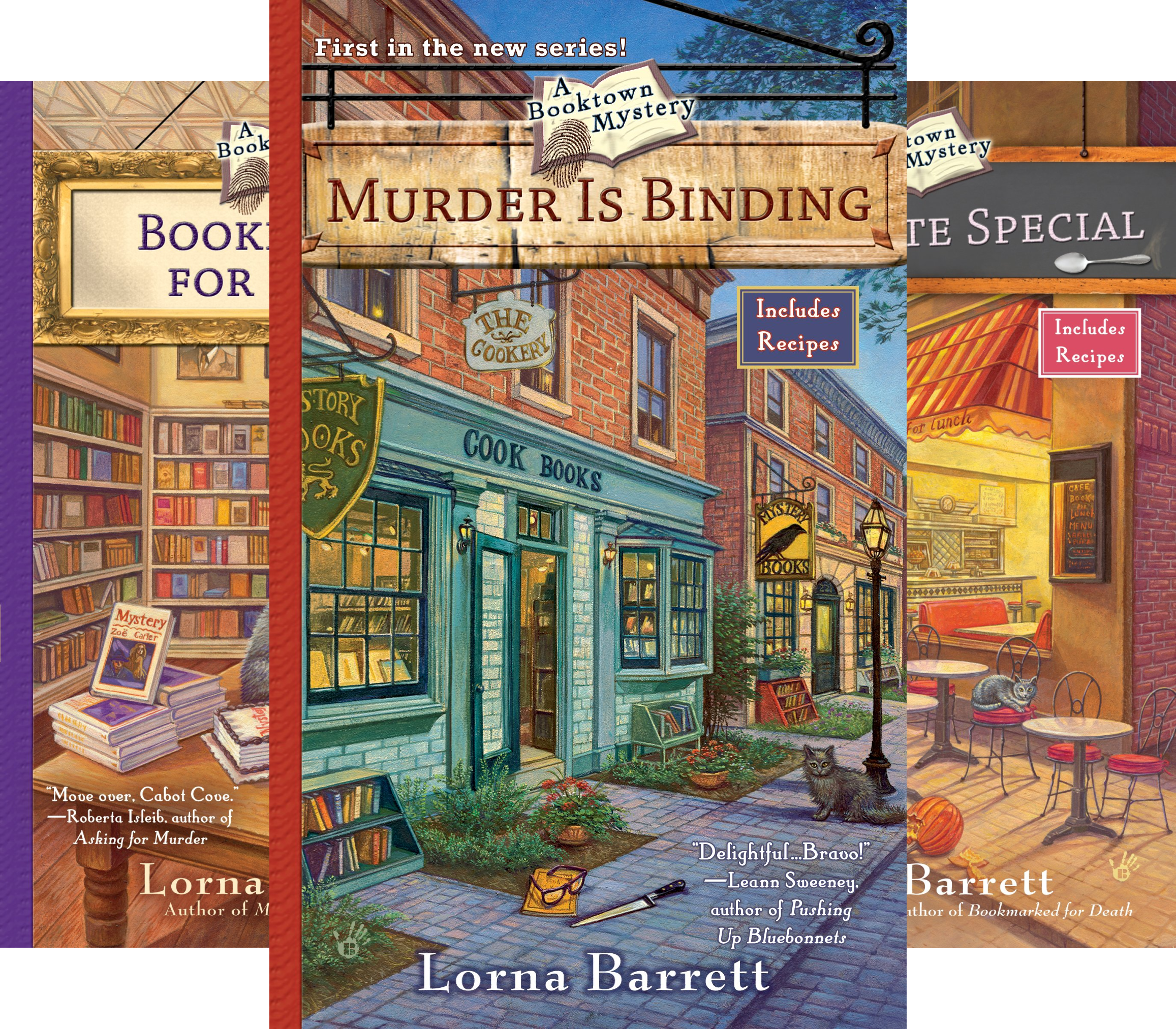 A Booktown Mystery (11 Book Series)