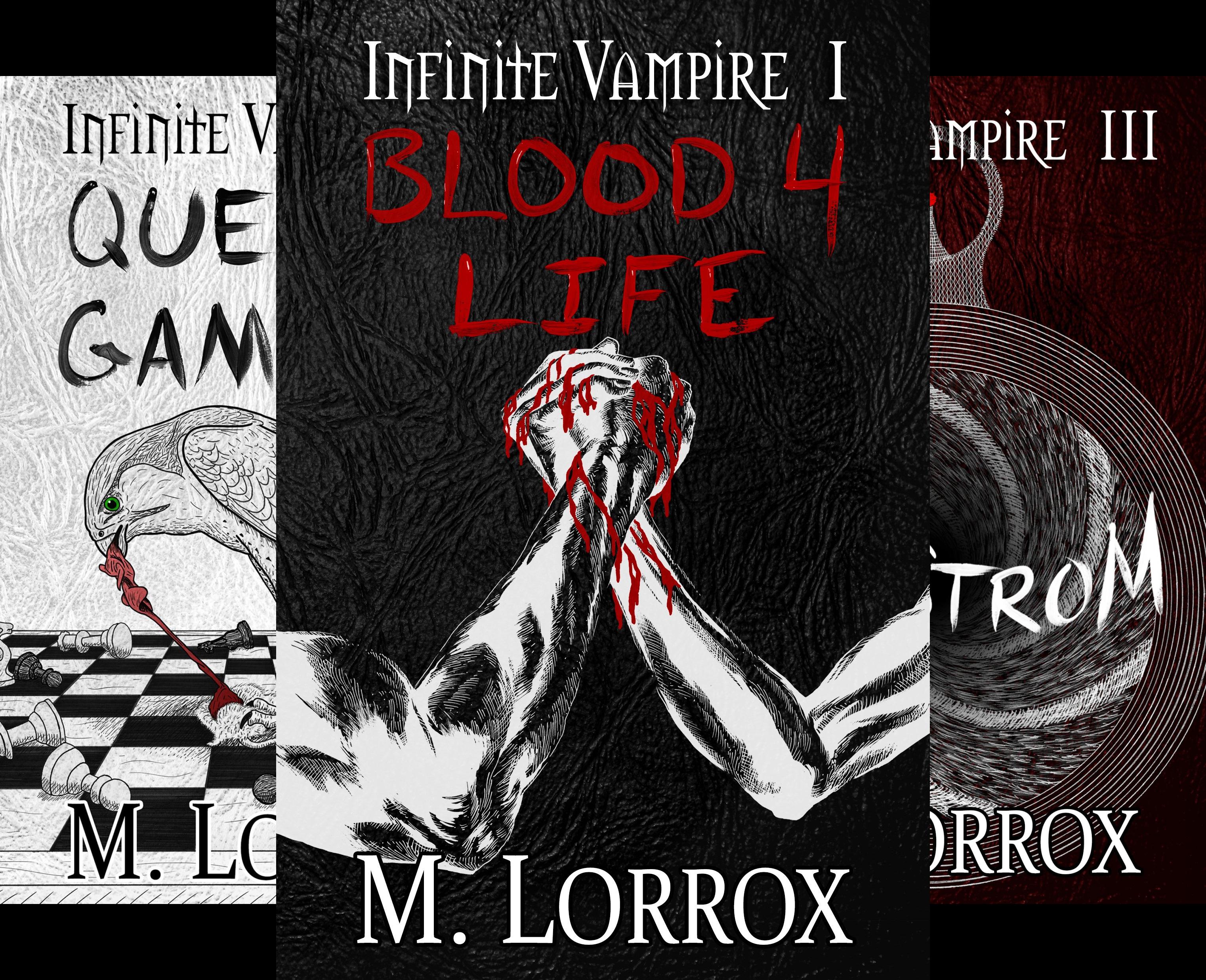 Infinite Vampire (4 Book Series)