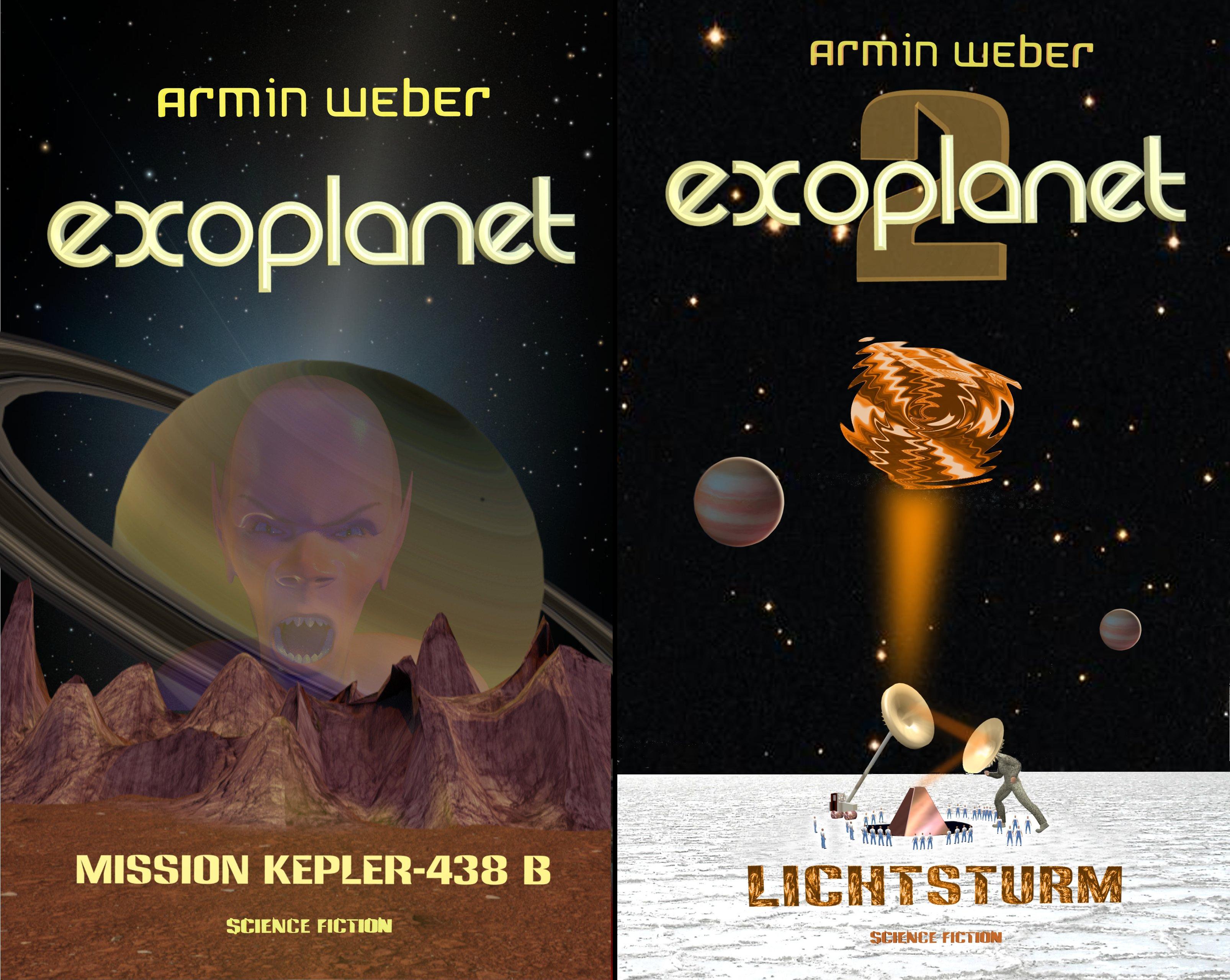 EXOPLANET (Reihe in 2 Bänden)