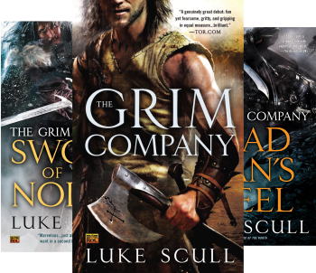 The Grim Company Series (Book Series) by Luke Scull