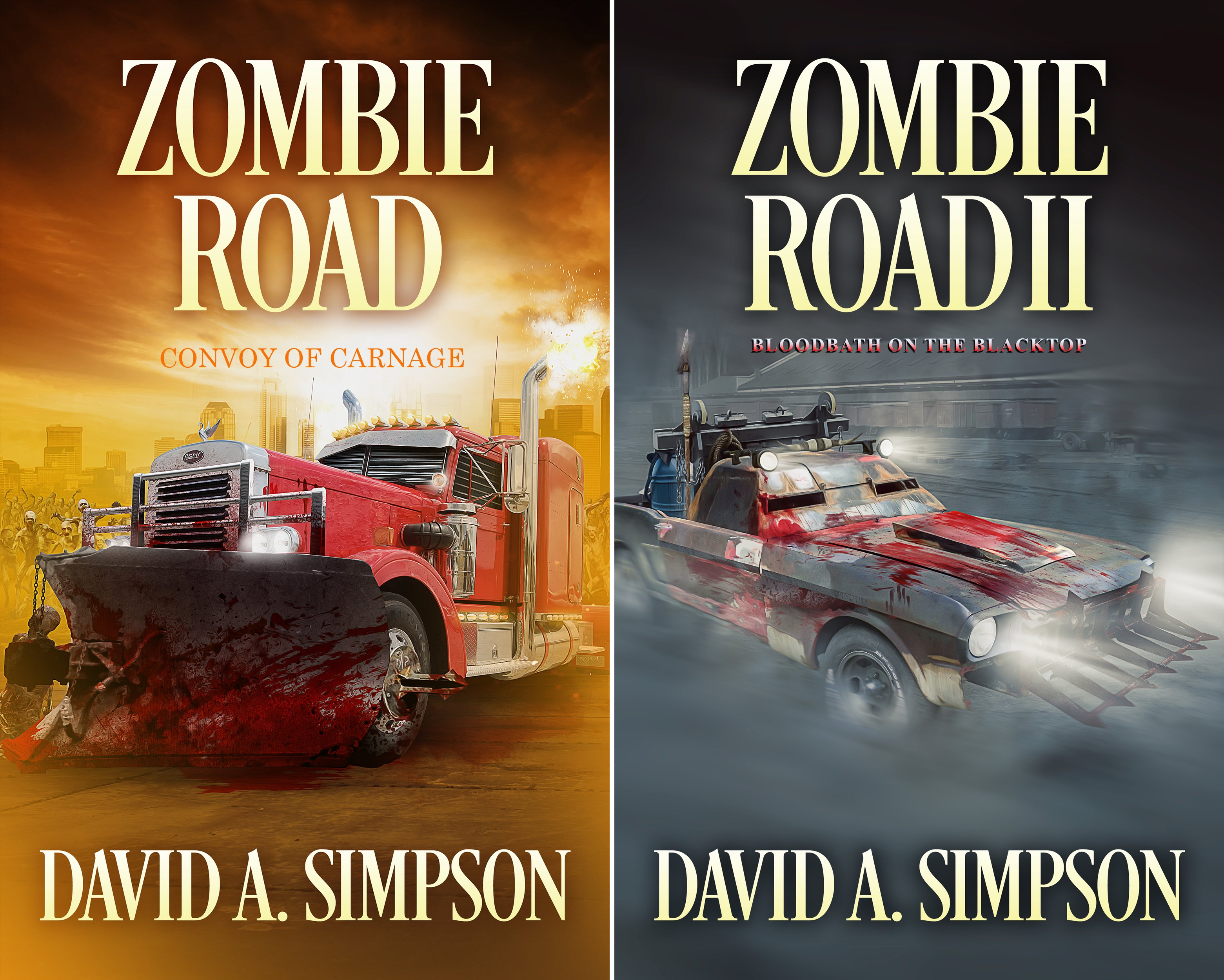 Zombie Road (2 Book Series)