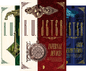 George Dower Trilogy (3 Book Series) by K. W. Jeter, KW Jeter