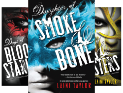 Daughter of Smoke and Bone (3 Book Series) by  Laini Taylor