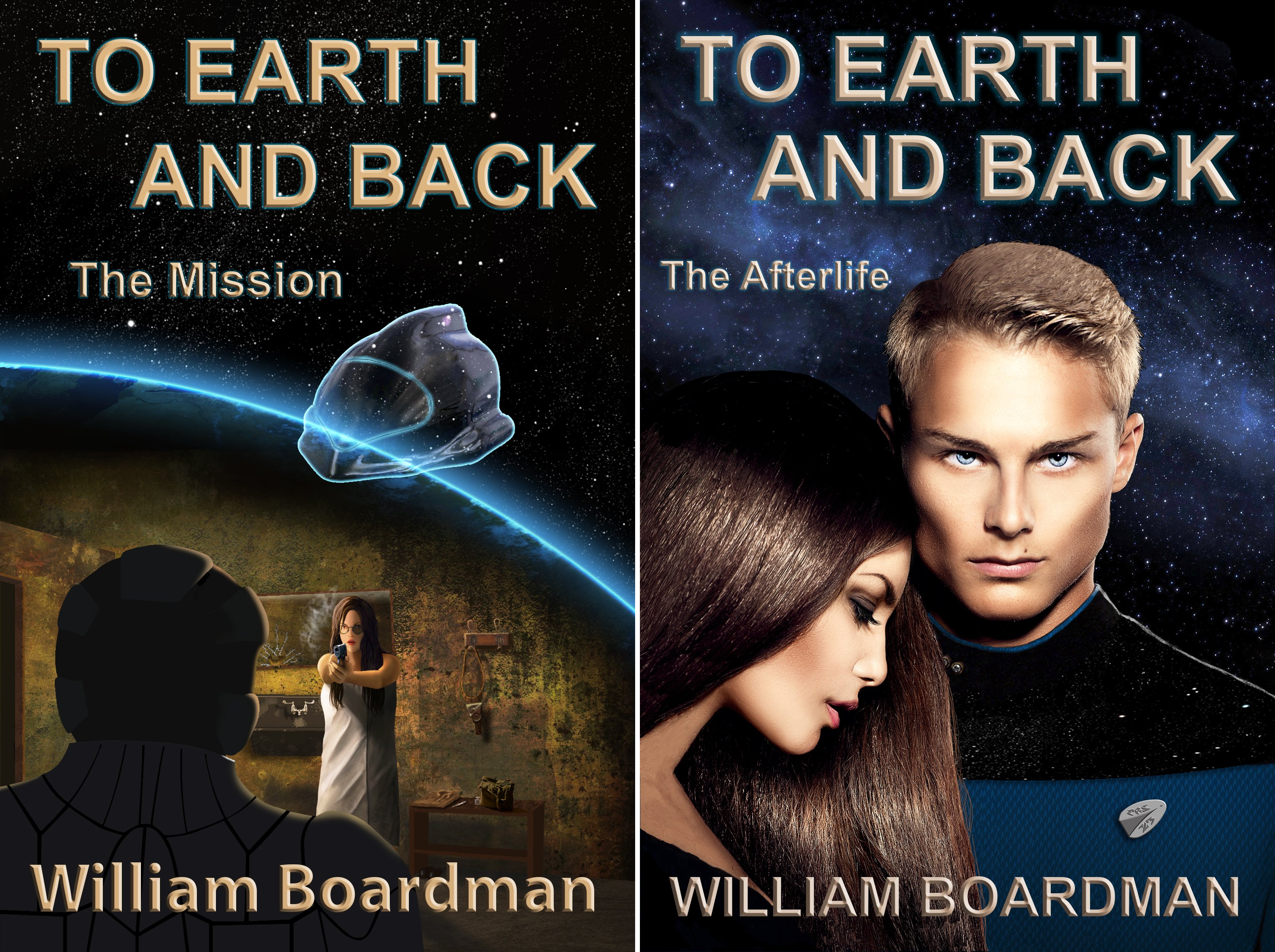 To Earth and Back (2 Book Series)
