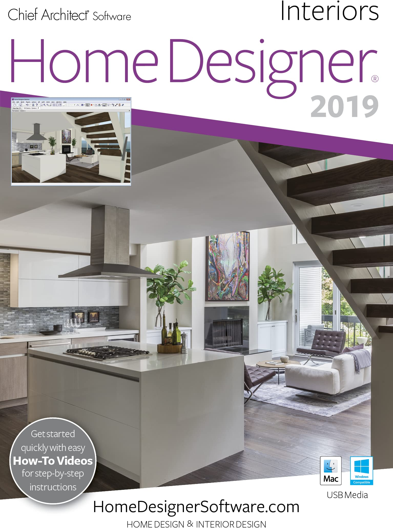 Amazon Com Home Designer Interiors 2019 Pc Download Download Software