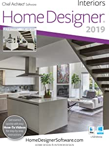Amazon Com Home Designer Interiors 2019 Pc Download Download Software