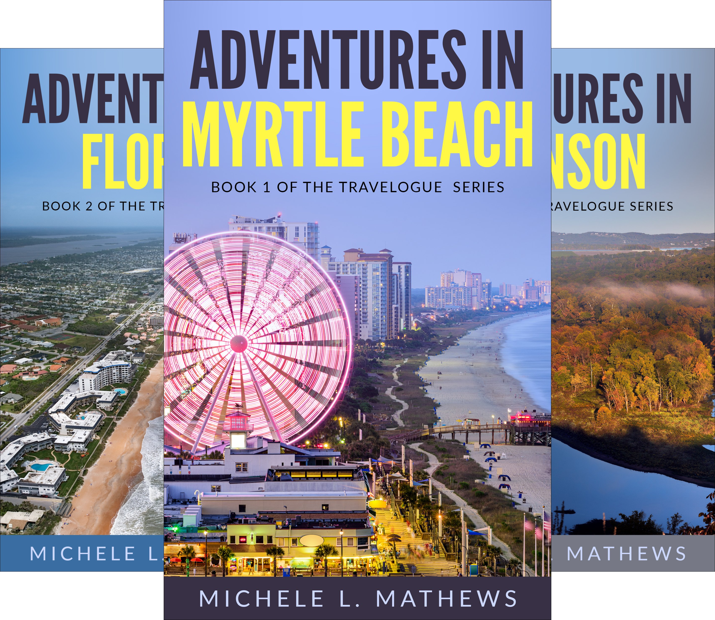 The Travel Memoir Series (3 Book Series)