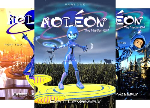 Aoleon The Martian Girl (5 Book Series)