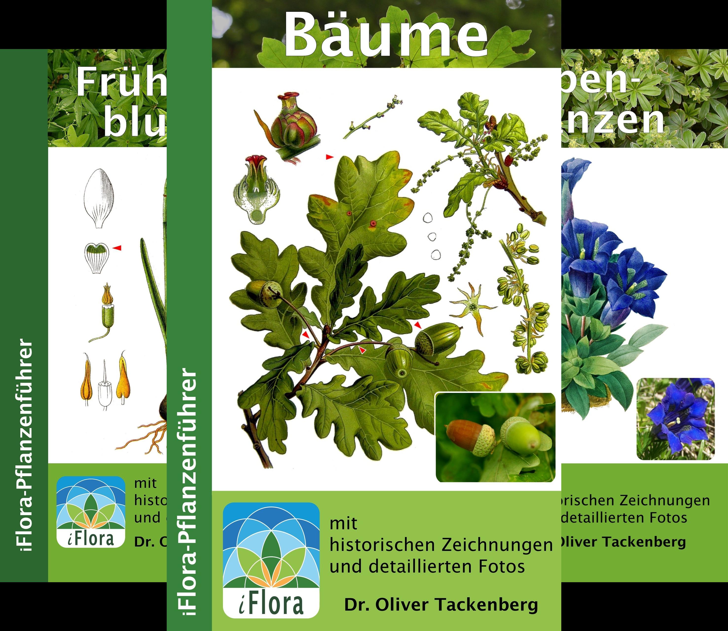iFlora Pflanzenführer (Reihe in 7 Bänden)