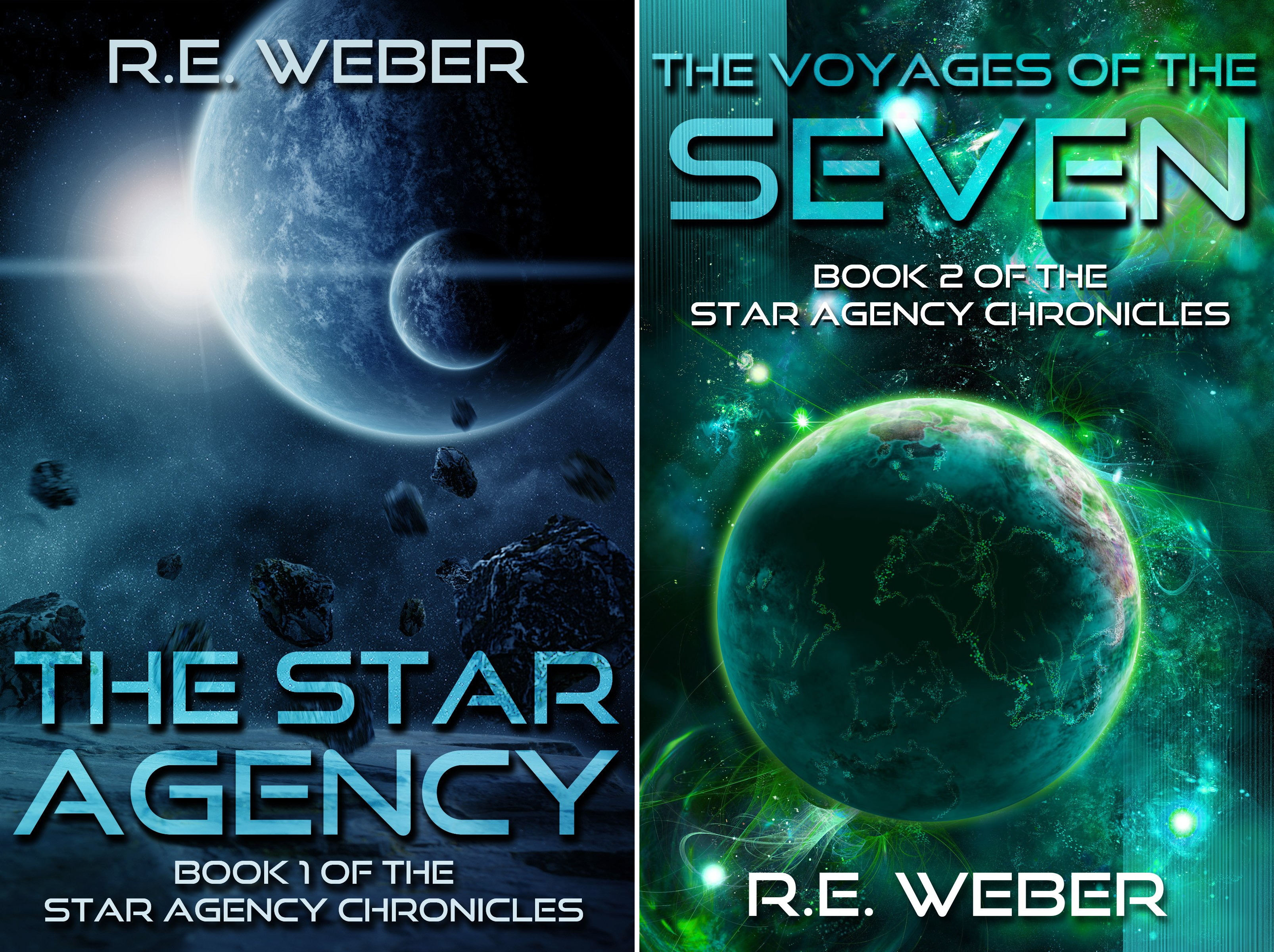 The Star Agency Chronicles (2 Book Series)