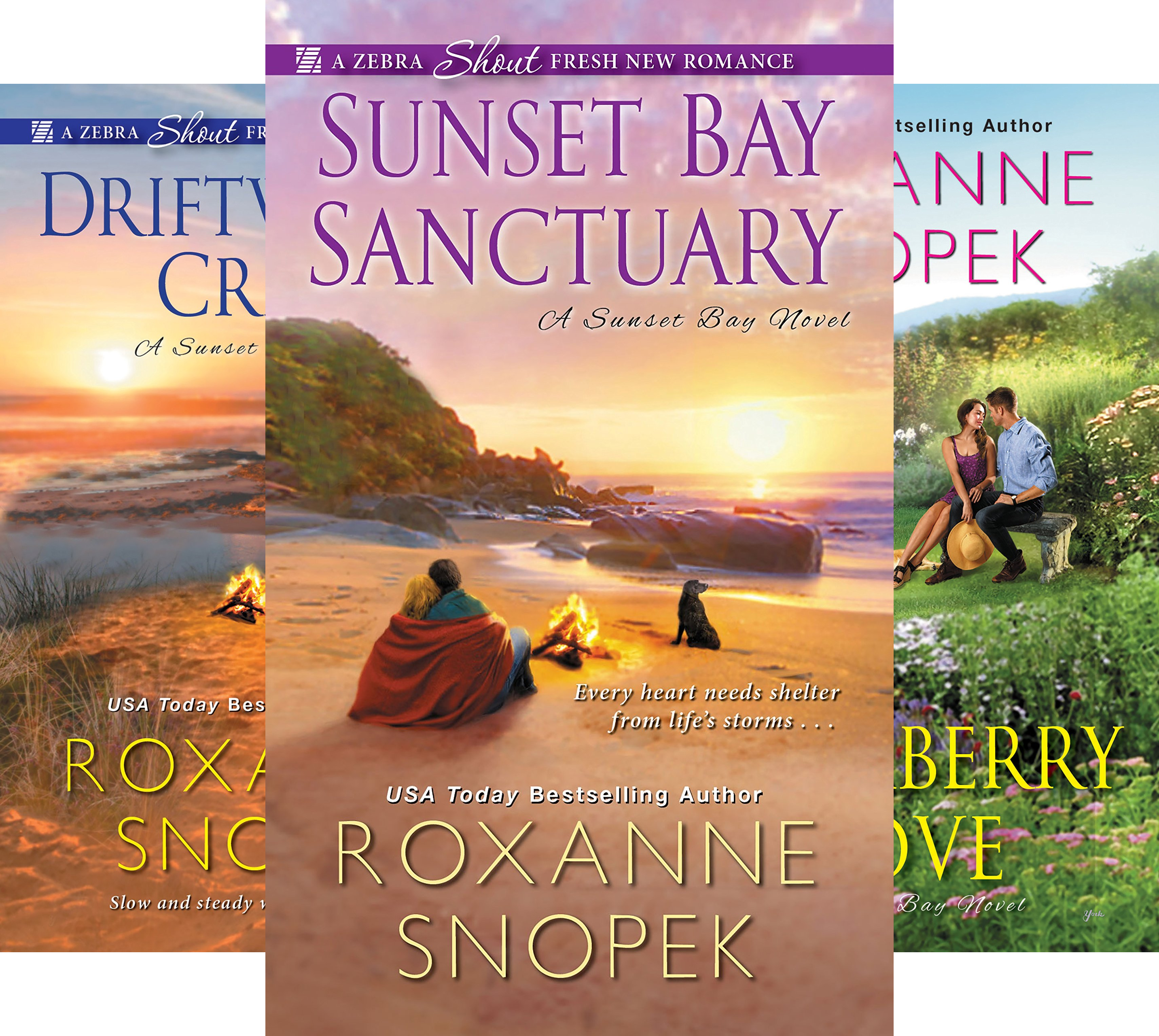 A Sunset Bay Novel (3 Book Series)