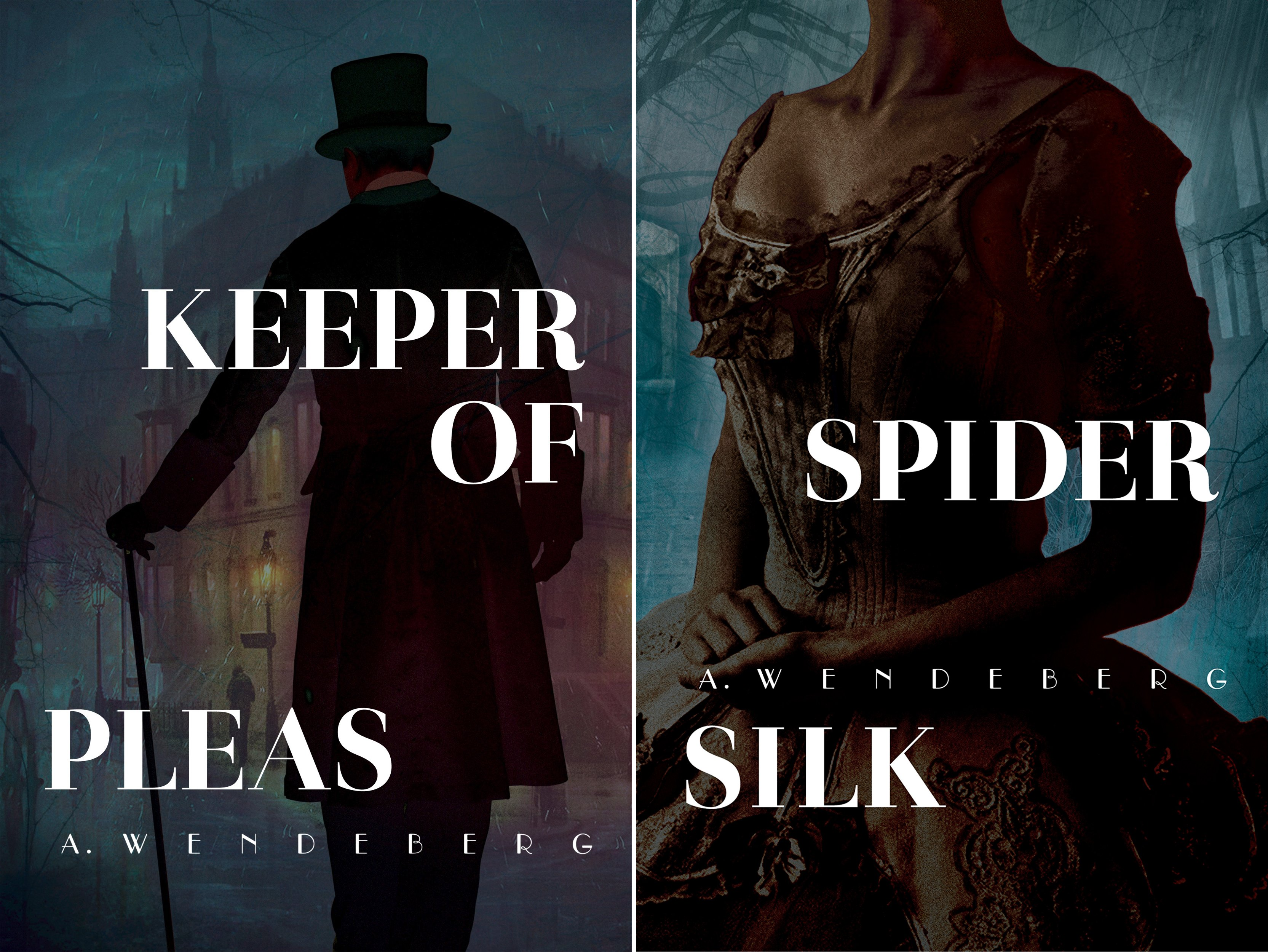 A gritty Victorian serial killer mystery (2 Book Series)