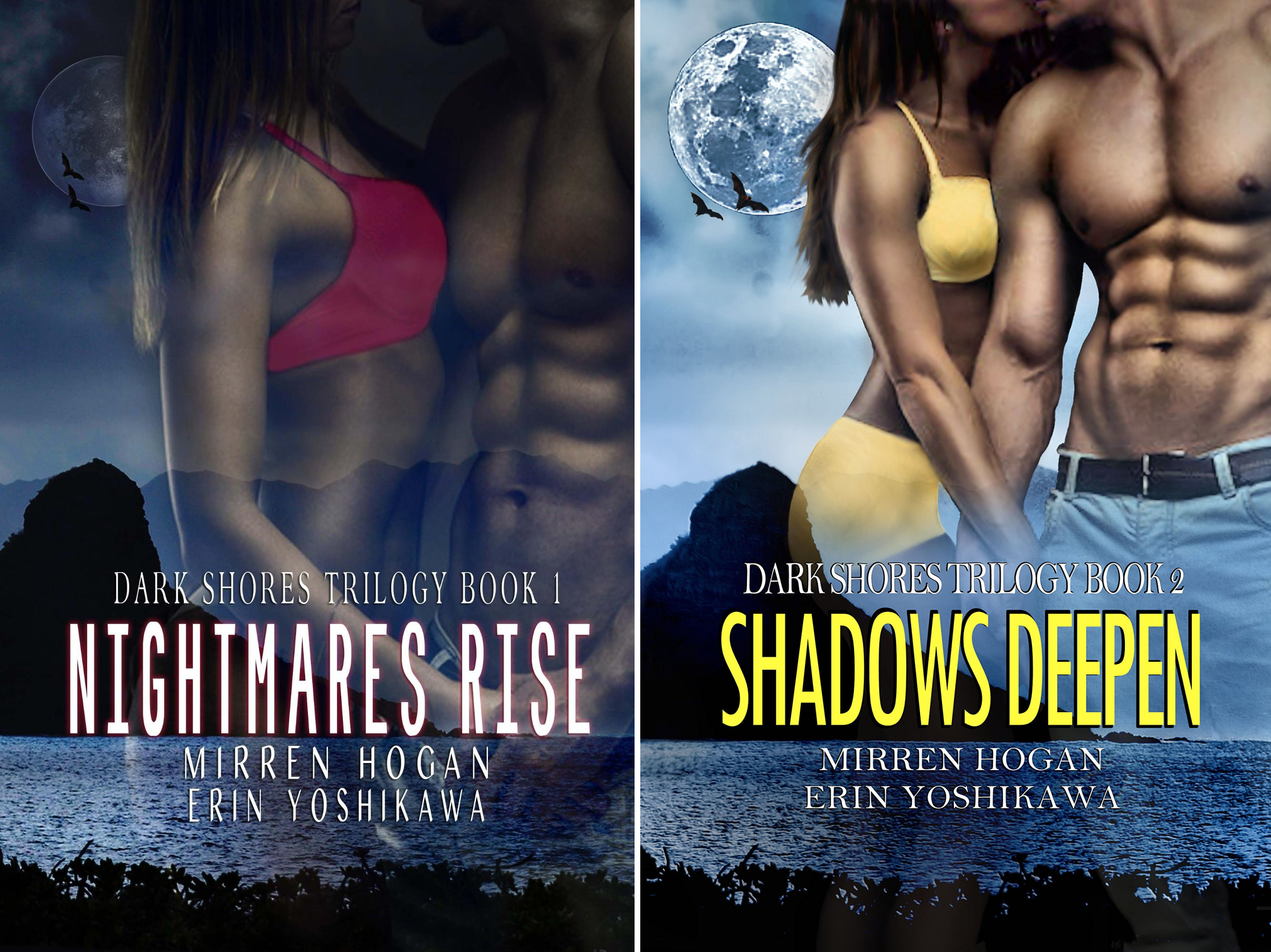 Dark Shores Trilogy (2 Book Series)