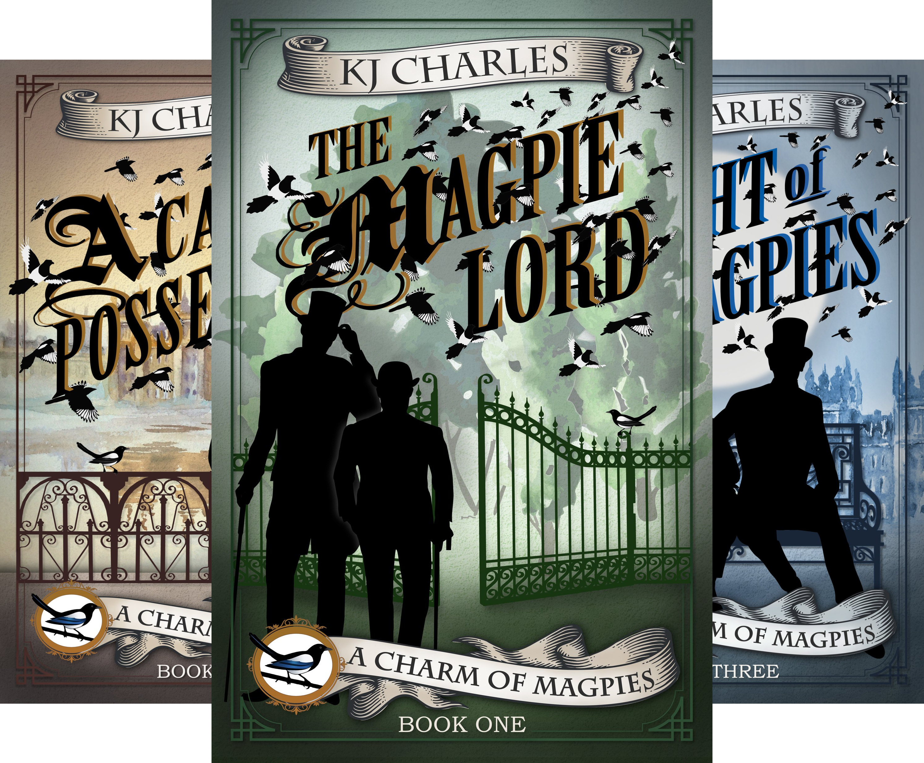 A Charm of Magpies (3 Book Series)