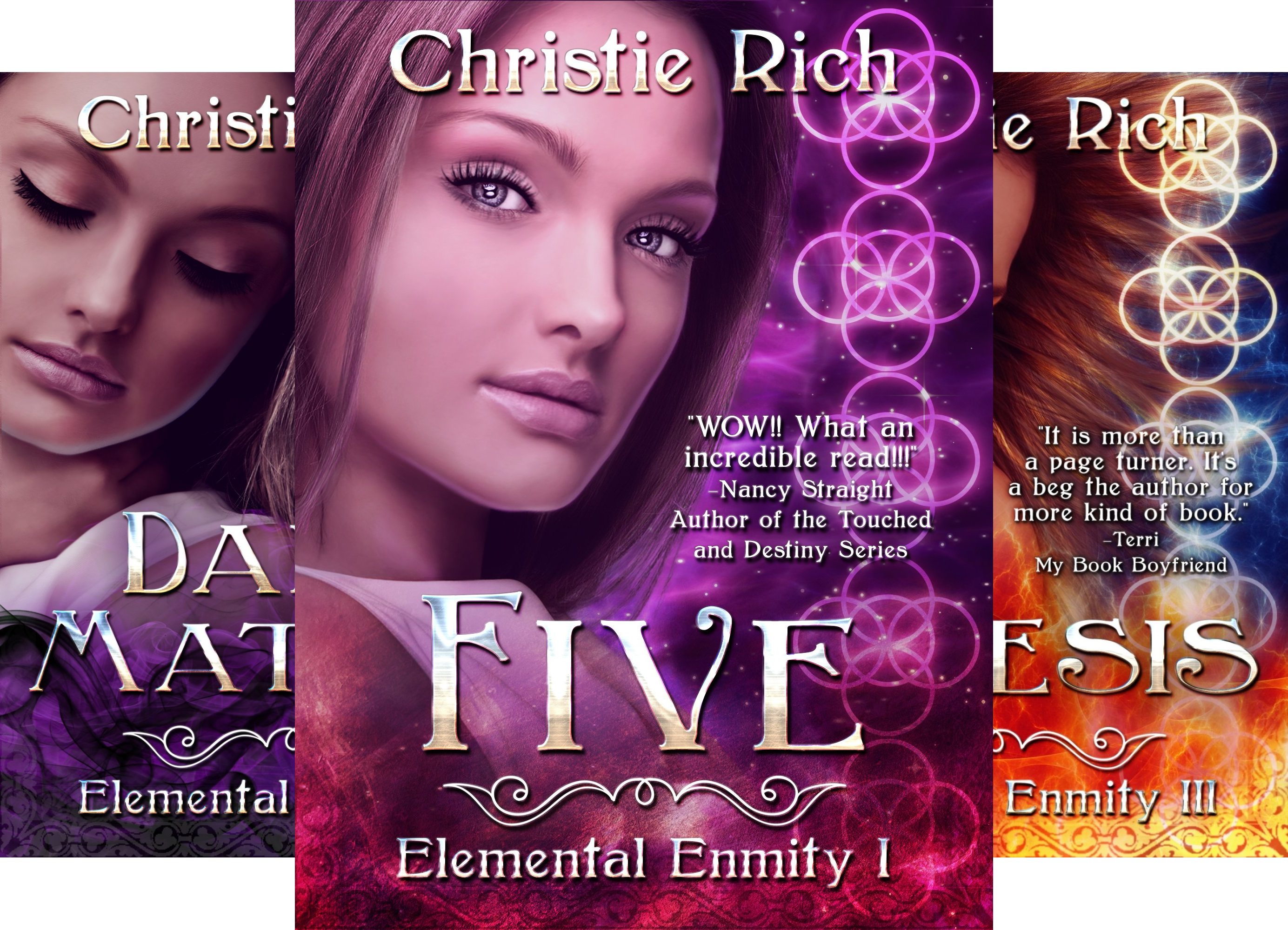 Elemental Enmity Series (4 Book Series)