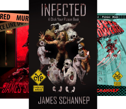 Click Your Poison (4 Book Series) by  James Schannep