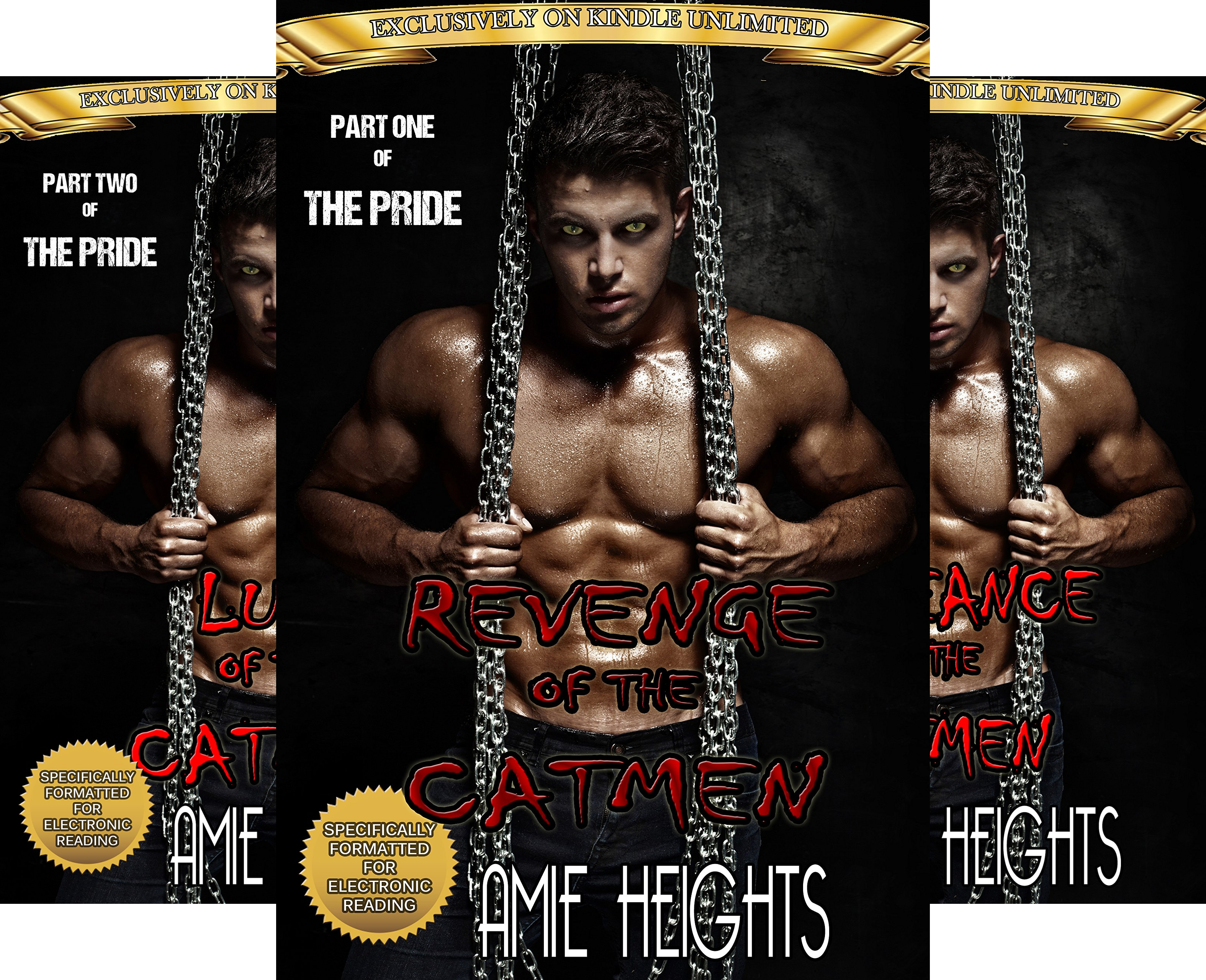 The Pride of the Cat Men (3 Book Series)