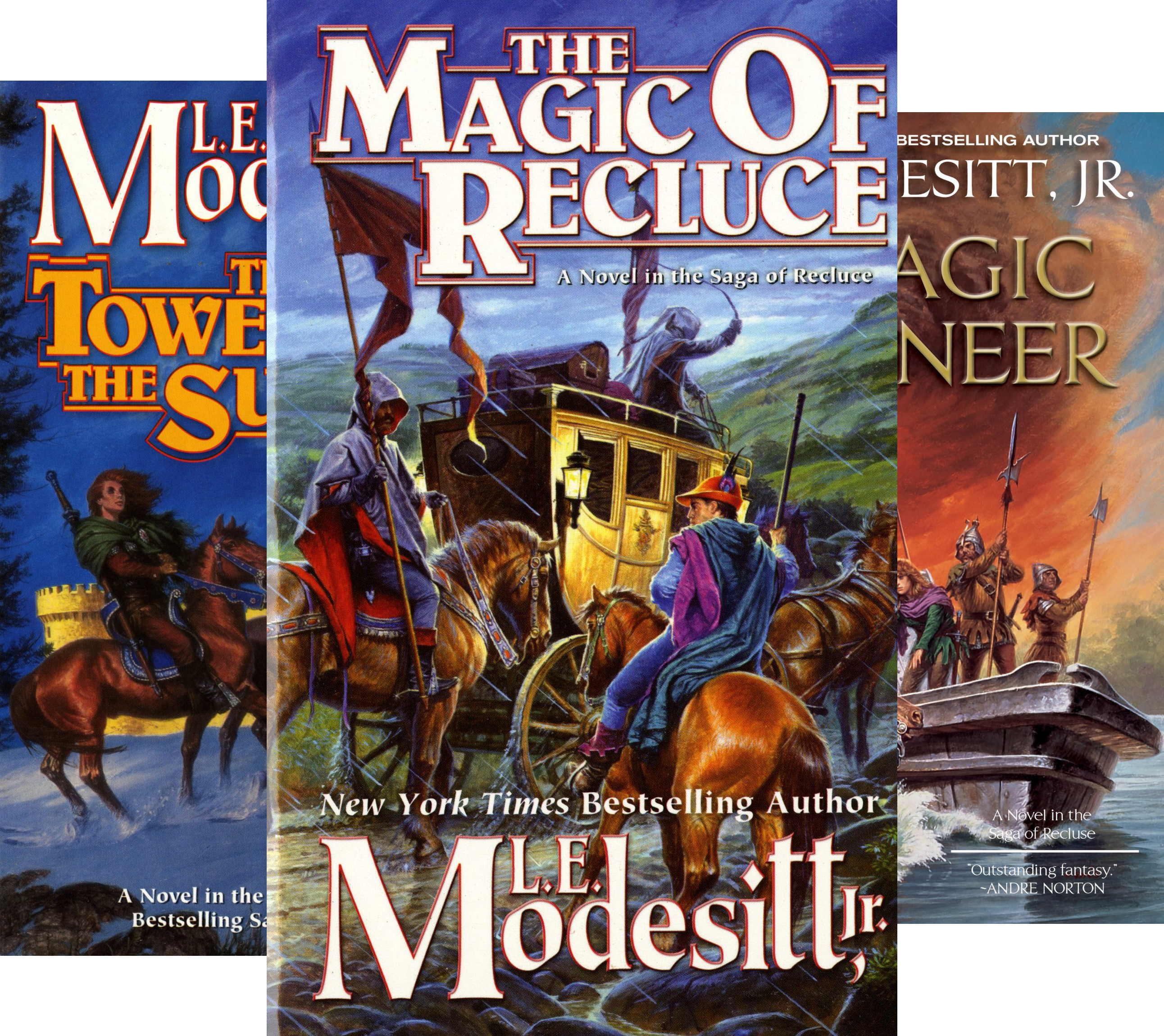 Saga of Recluce (18 Book Series) Pdf