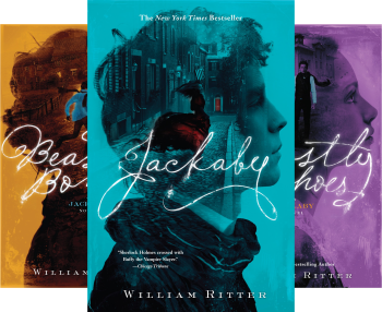 Jackaby (4 Book Series) by William Ritter