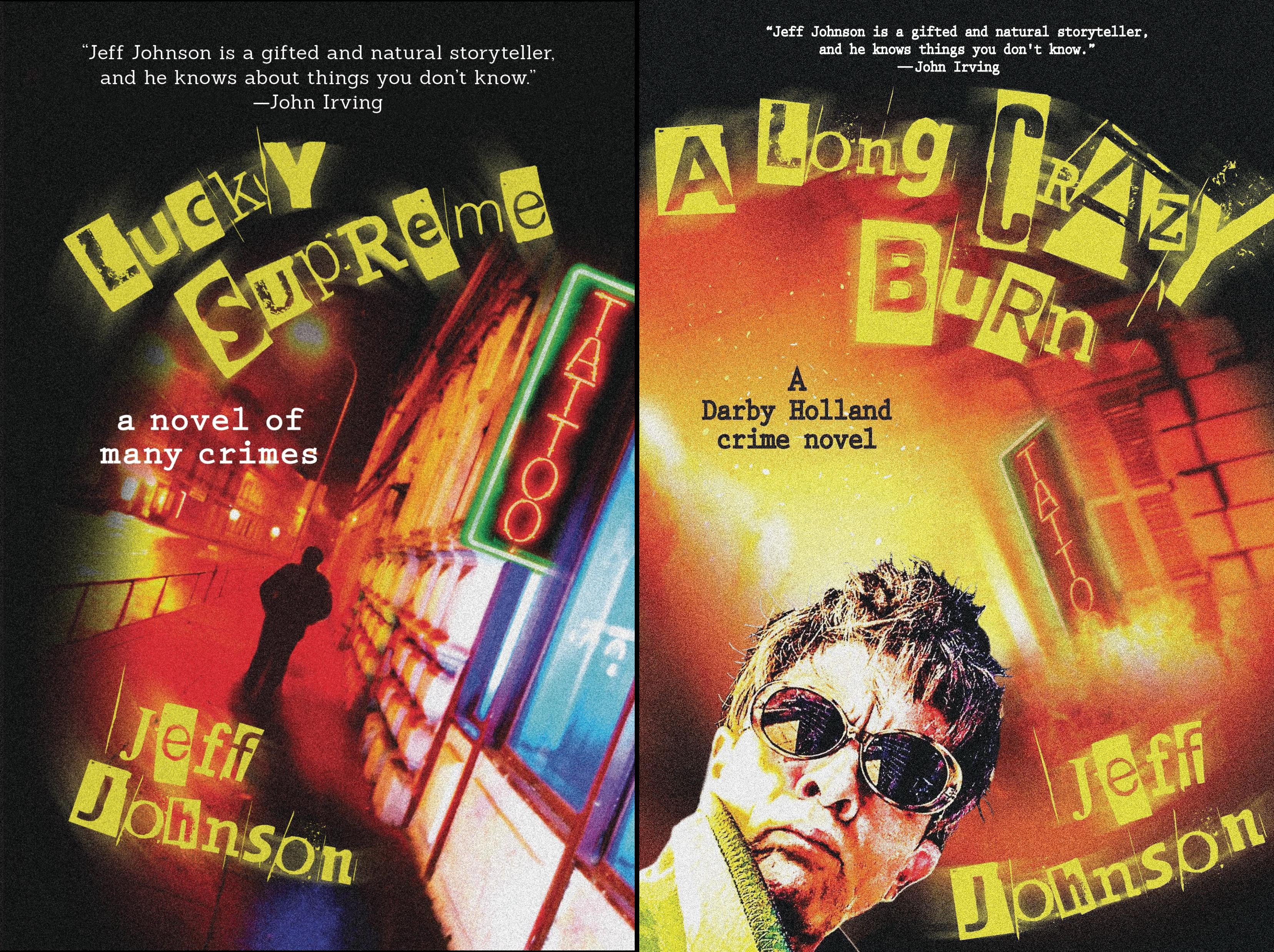 Darby Holland Crime Novel (2 Book Series)
