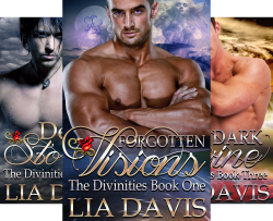 The Divinities (4 Book Series) by  Lia Davis